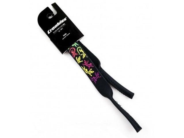 Croakies kids print Lizard