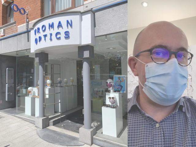 Opticien Christophe Vroman @ Vroman Optics in Dilbeek