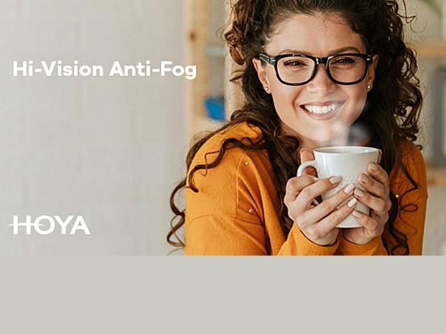 Hoya Hi-Vision Anti-fog hoya glazen voor een helder zicht, altijd en overal