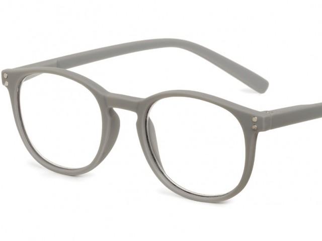 Looplabb leesbril Dune warm grijs