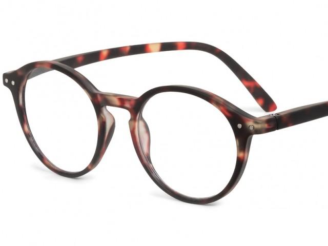 Looplabb leesbril Faust schildpad bruin