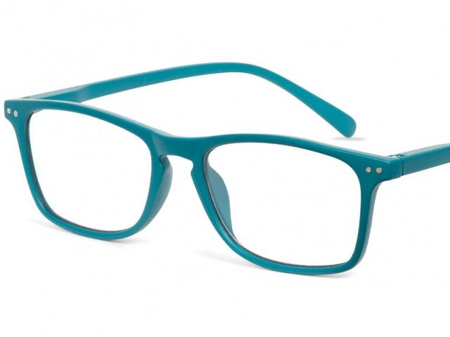 Looplabb leesbril Legend petrol blauw
