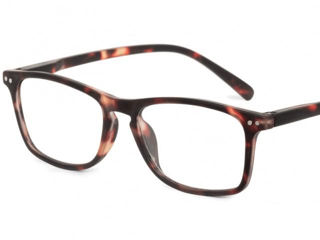 Looplabb leesbril Legend schildpad bruin