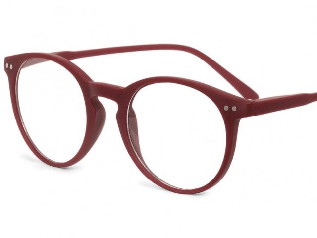 Looplabb leesbril Lolita warm bordeaux