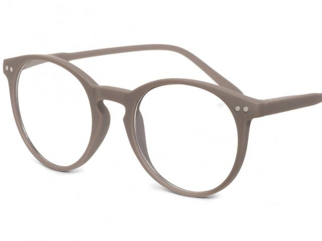 Looplabb leesbril Lolita warm grijs
