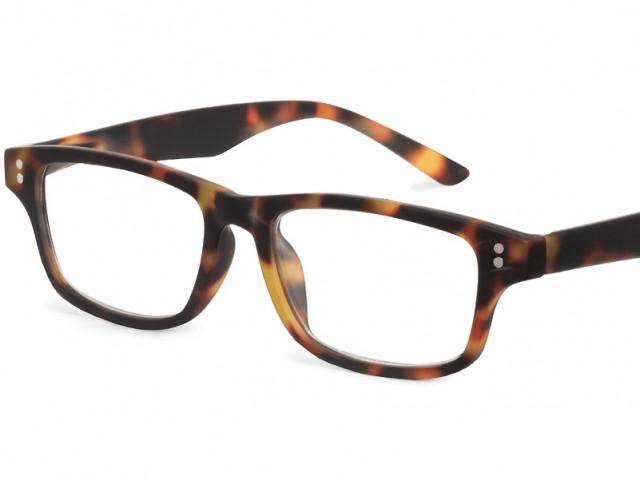 Looplabb leesbril Shannara schildpad bruin