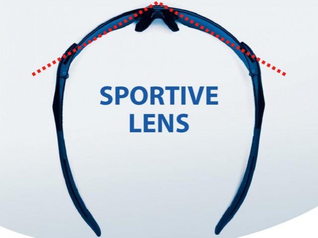 High curved sportglazen & fashionglazen hoyalux sportive trueform nulux sportive trueform