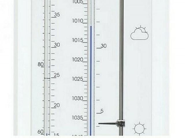 Weerstations weerinstrumenten thermometer barometer hygrometer