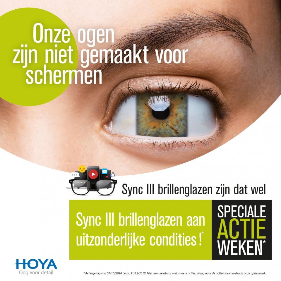 actie paar SyncIII digitale glazen met boost zone aan promoprijs
