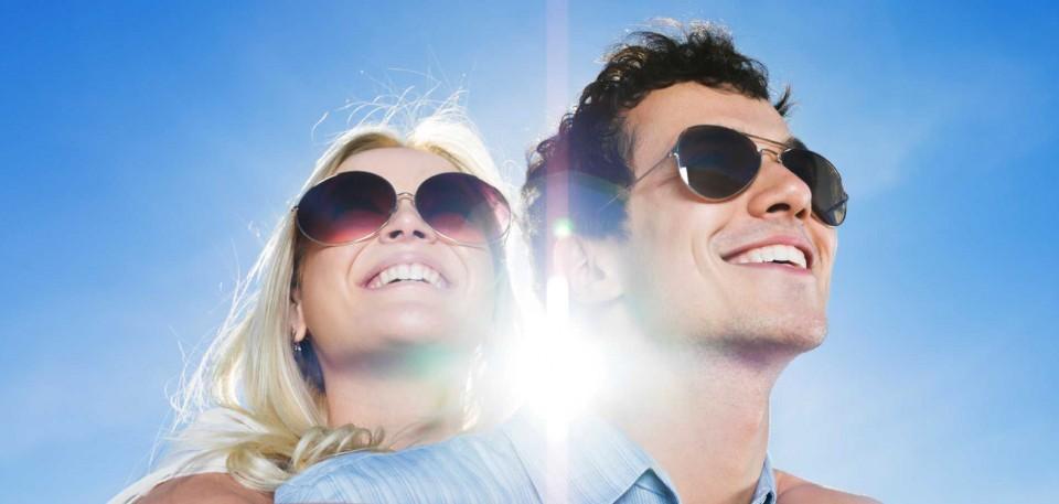20 procent korting op alle zonnebrillen in voorraad